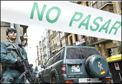 guardia civil pais vasco