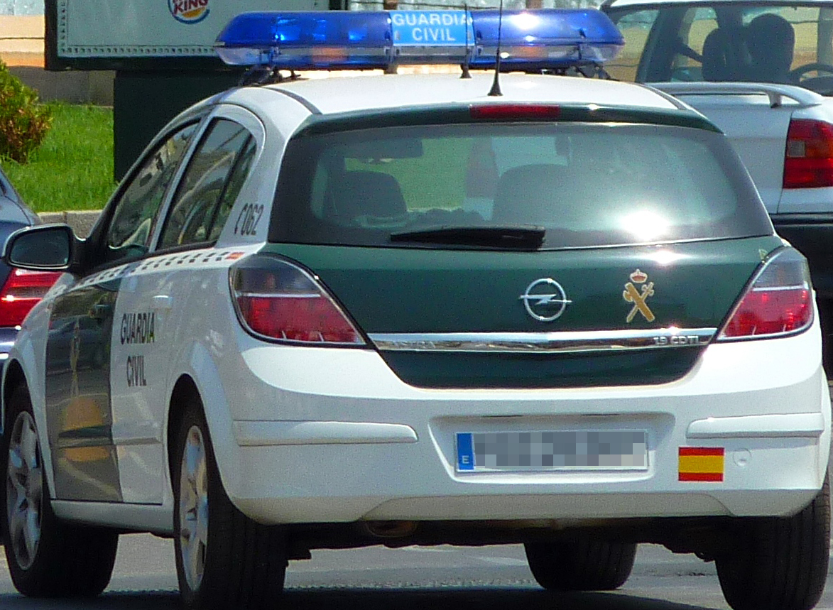 Opel Astra Guardia Civil