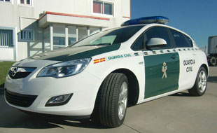 flotas opel guardia civil