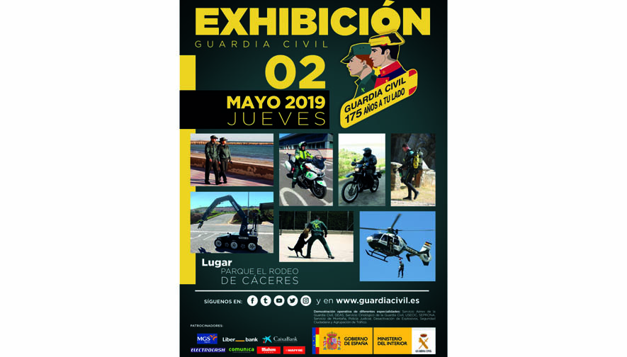 CARTEL 175 ANIVERSARIO GUARDIA CIVIL