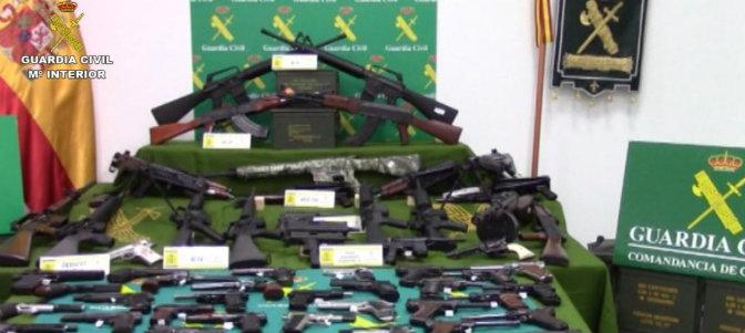 guardia civil interior armas