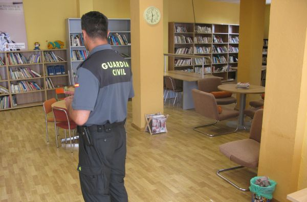 Biblioteca-guardia-civil