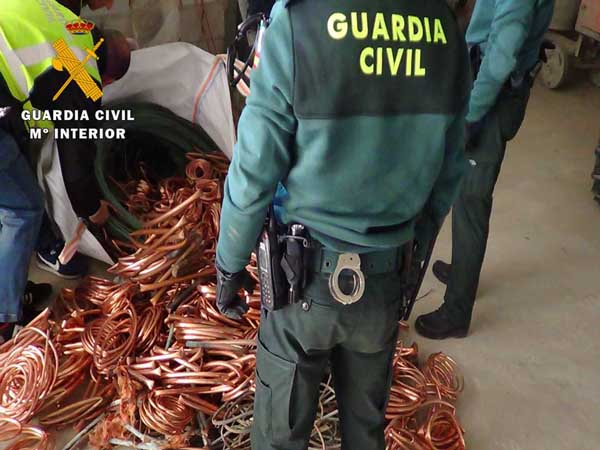 guardia-civil-zaragoza-robo-cable-25-11-15