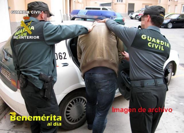 Guardia civil camargo