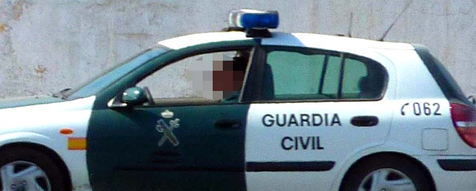 Nissan Almera Guardia Civil