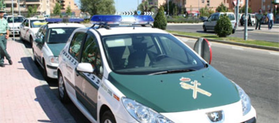 Coche-Guardia-Civil boadilla