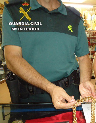 GUARDIA CIVIL HUELVA-robos CARTAYA