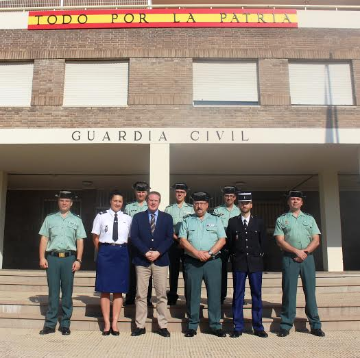 gendarmes y guardias civiles en castellon