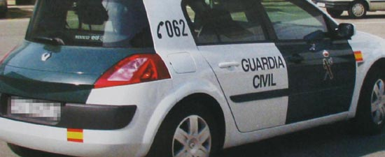 guardia civil megane23