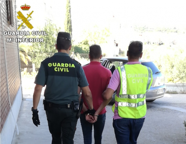 guardia civil valencia-foto detencion