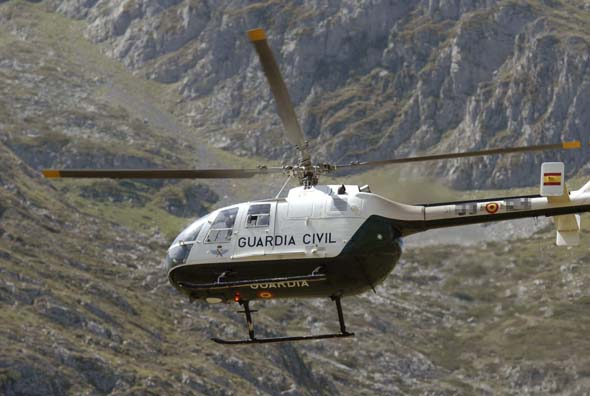 helicoptero guardia civil