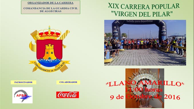 cartel carrera solidaria guardia civil algeciras