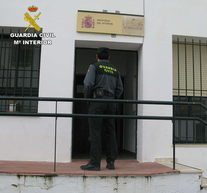 Guardia civil huelva robo Cartaya