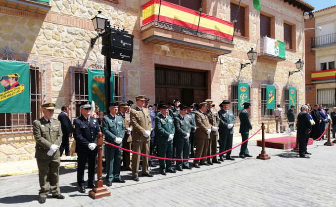 guardiacivil lillo homenaje
