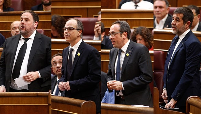 politicos presos suspension