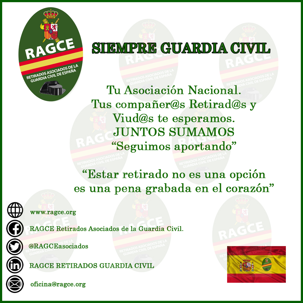 Cartel RAGCE para Asociaciones