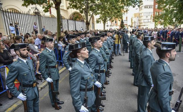 actos patrona guardia civil badajoz