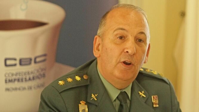 coronel Guardia Civil Jesus Nunez