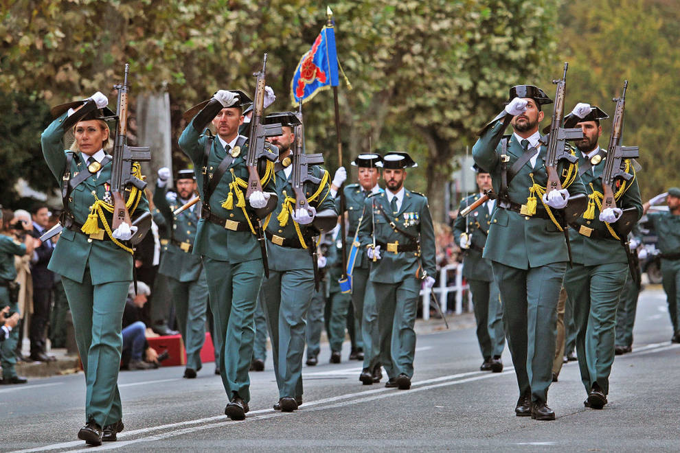 2016 desfile guardia civil
