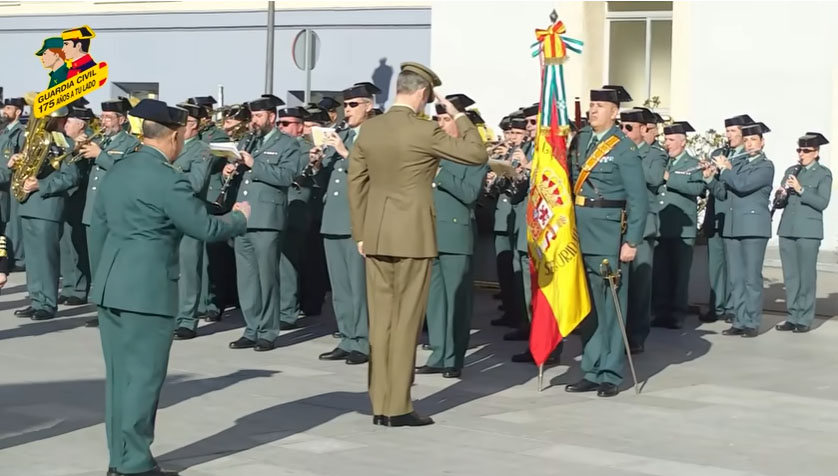 rey guardia civil