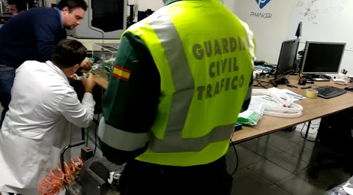 boquillas etilometros guardia civil asturias