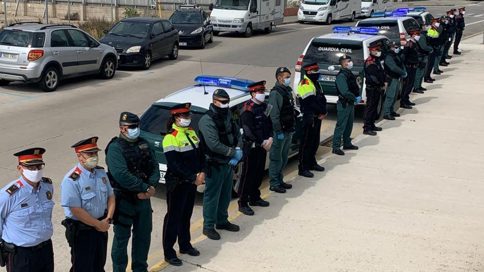 mossos guardias civiles