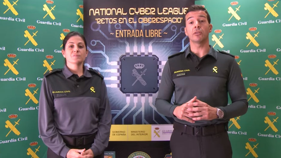 La Guardia Civil del siglo XXI. Conferencia de la fase clasificatoria de la II National Cyber League
