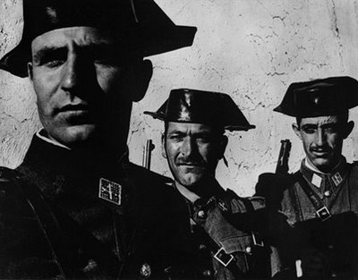 Guardia Civil Spain 1950