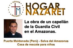 UN CAPELLAN DE LA GUARDIA CIVIL EN EL AMAZONAS